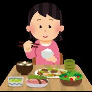 食事(女性)