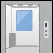 エレベーター(開いている)